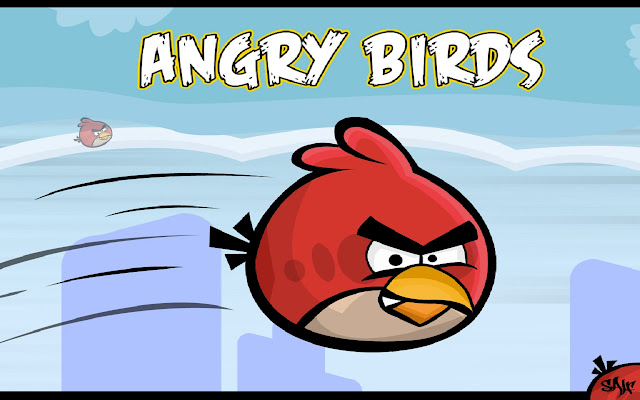 ANGRY BIRD screenshot 1