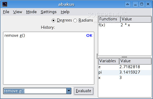 Abakus screenshot 1