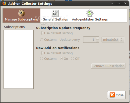 Add-on Collector for SeaMonkey screenshot 4