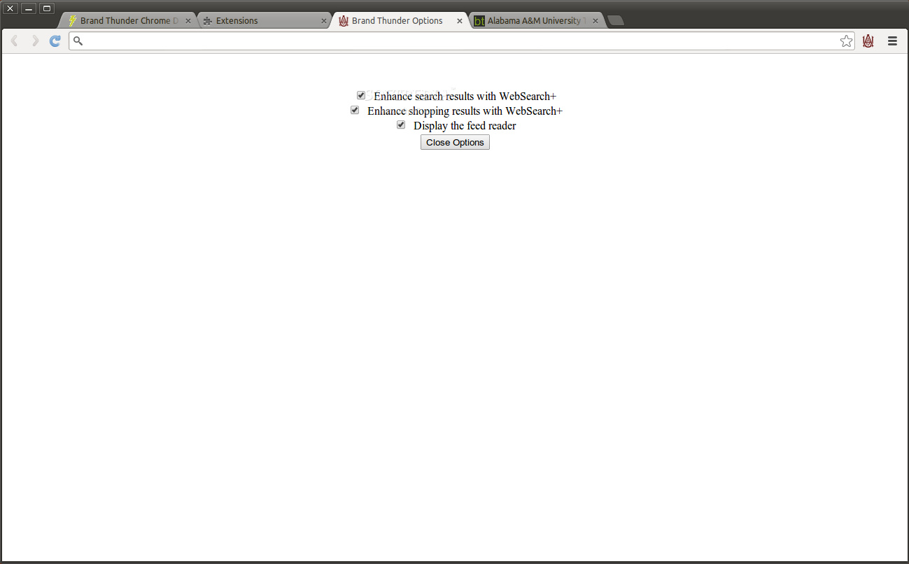 Alabama A&M University for Google Chrome screenshot 2
