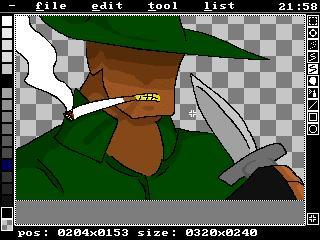 Allegro Sprite Editor screenshot 1