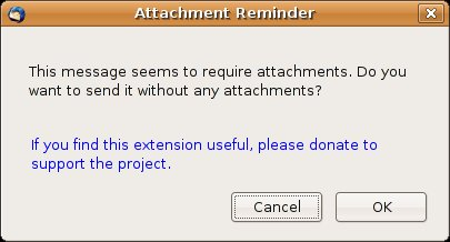 Attachement Reminder 0.2.0 screenshot 1