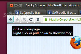 Back/Forward No Tooltips screenshot 1