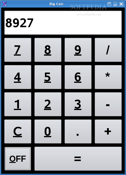 Big Calc screenshot 2