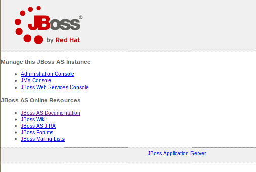 BitNami JBoss Stack screenshot 2