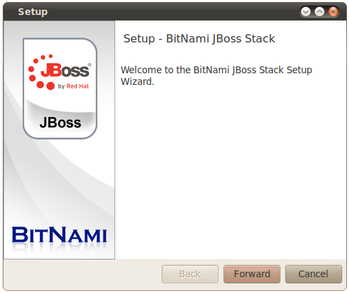 BitNami JBoss Stack screenshot 1