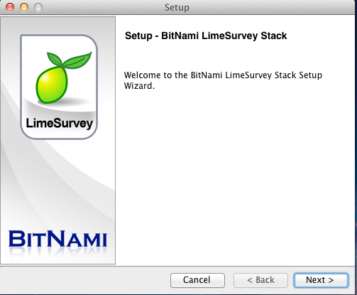 BitNami LimeSurvey Module screenshot 1