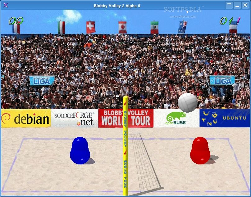 Blobby Volley 2 screenshot 2