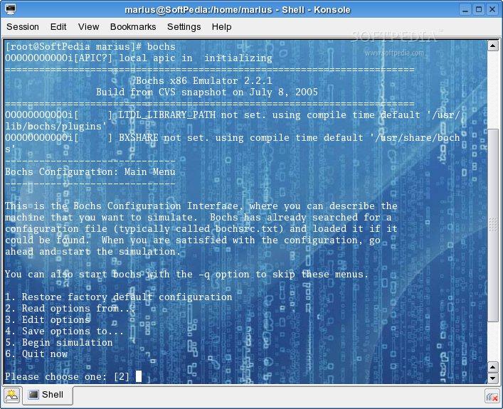 Download Bochs Linux 2 6 9