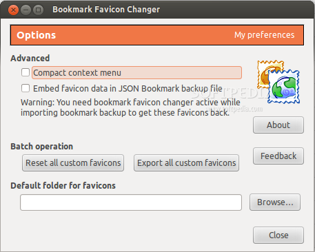 Bookmark Favicon Changer for Firefox screenshot 1