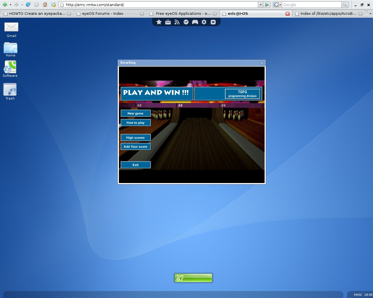 Bowling screenshot 1