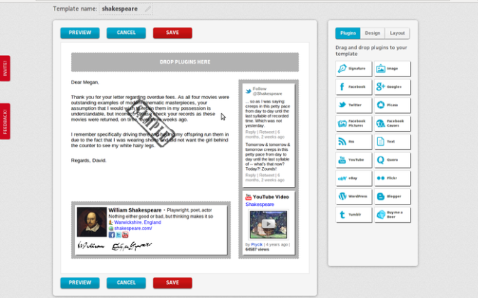 BrandMyMail screenshot 1