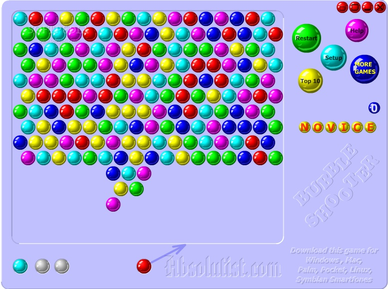 andkon bubble shooter
