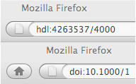 CNRI Handle Extension for Firefox screenshot 2
