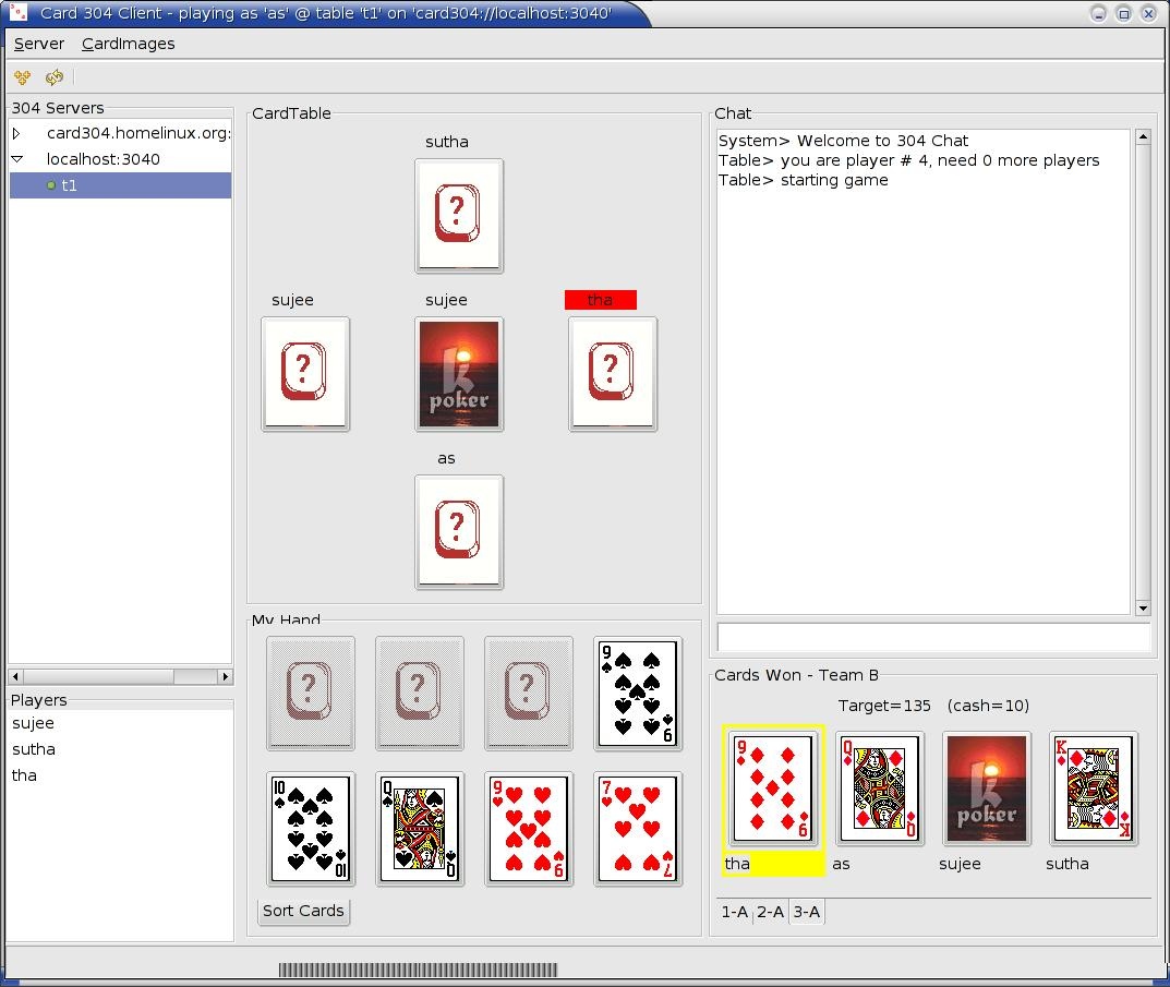 Card 304 screenshot 1