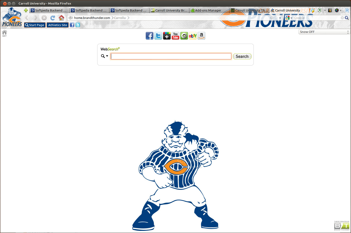Carroll University for Firefox screenshot 1