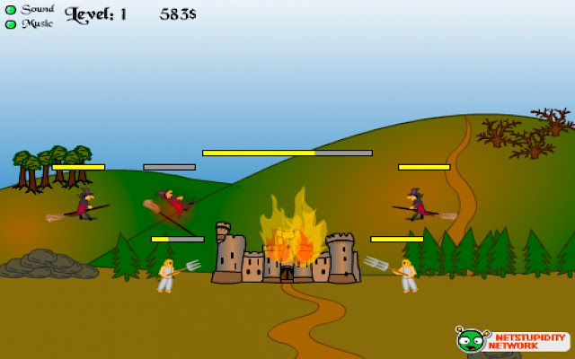 Castle Under Fire screenshot 1