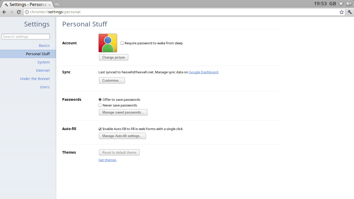 Chromium OS Vanilla screenshot 2