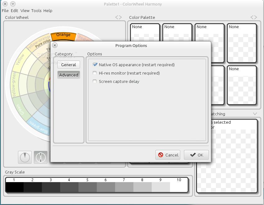 Download Colorwheel Harmony Linux 2 2