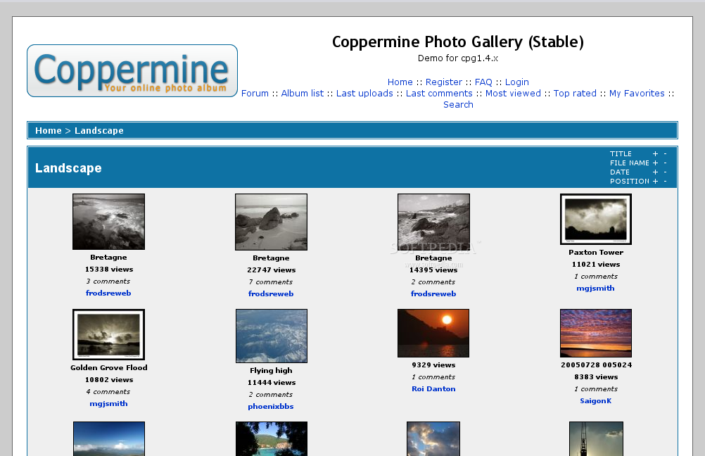 Download Coppermine Linux 1 5 40