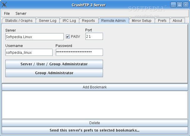 CrushFTP screenshot 3