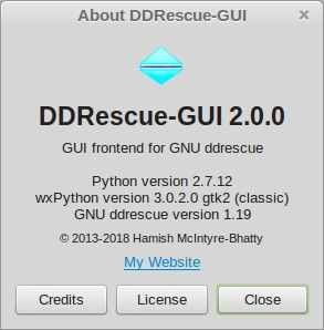 Download DDRescue-GUI Linux 2 0 2