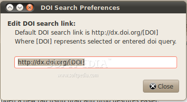 DOI Search screenshot 2
