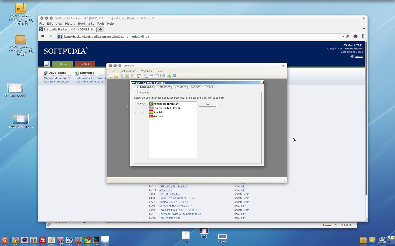 Download DWSIM Mono Edition Linux 2 1 Build 4534
