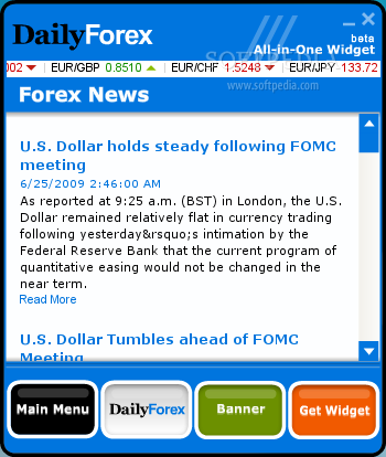 Fastest forex news feed