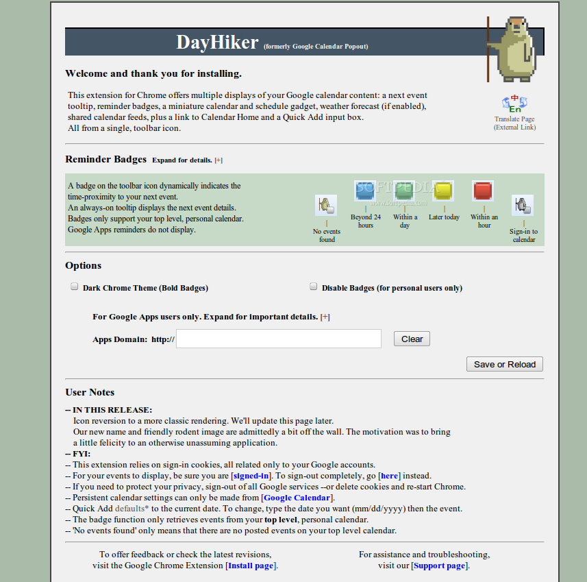 DayHiker screenshot 2