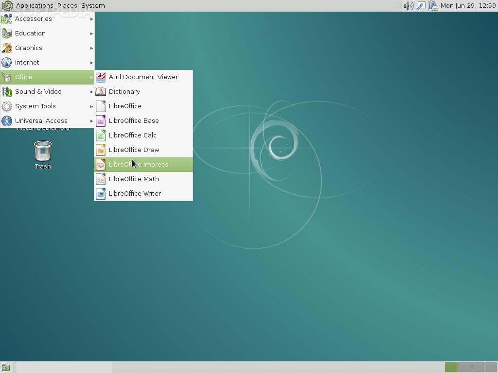 Download Debian Live MATE 10 0