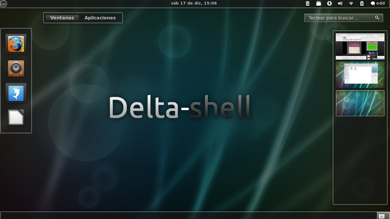 Delta-shell-glass screenshot 1
