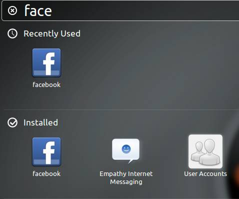 Desktop App for Facebook screenshot 1