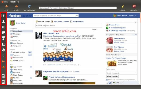 Desktop App for Facebook screenshot 2