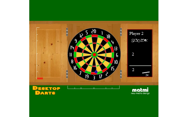 Desktop Darts screenshot 1