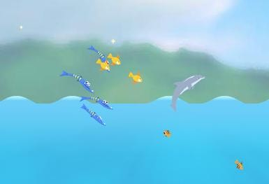 Dolphin Olympics screenshot 2