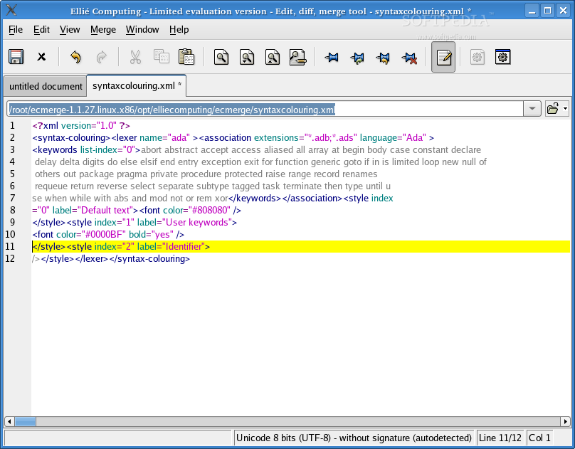 ECMerge Standard screenshot 1