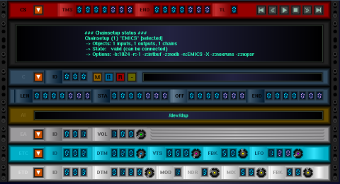 Ecasound Mastering Interface screenshot 2