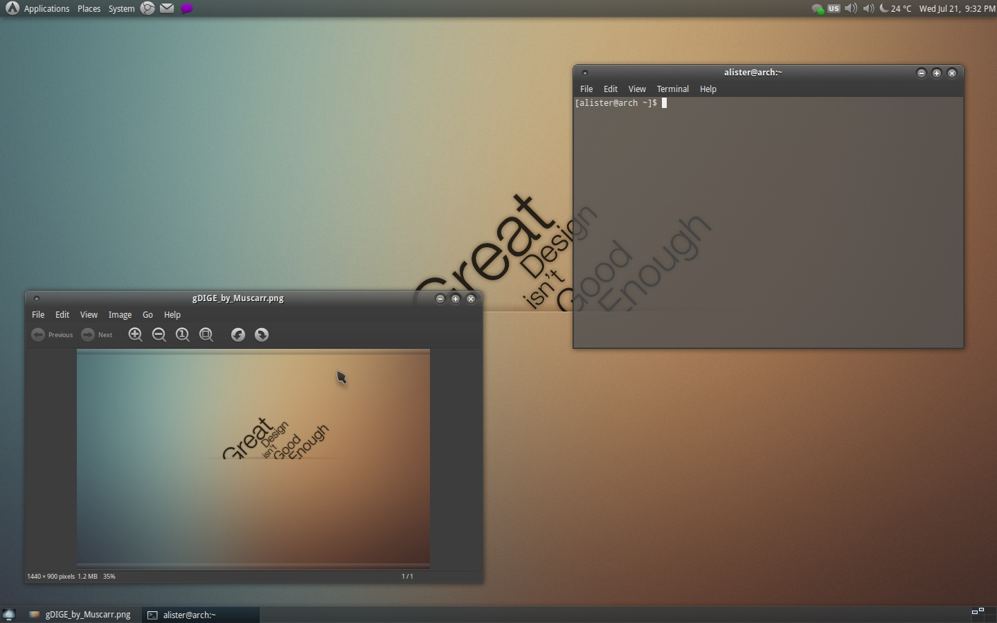 Elegant Gnome Pack screenshot 1