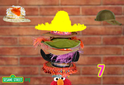 Elmo and Zoe Count Hats screenshot 2
