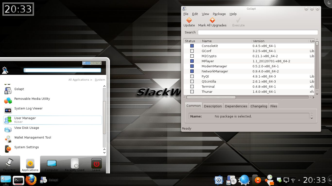 Exton-Slack screenshot 1