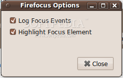 Firefocus screenshot 1