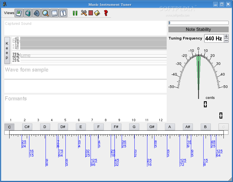 Free Music Instrument Tuner screenshot 2