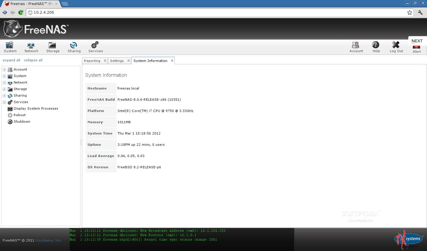 Download FreeNAS 11 2 Update 5