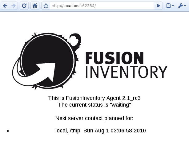 fusioninventory agent linux