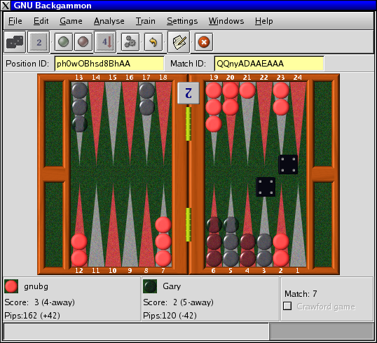 SCARICA GNU BACKGAMMON
