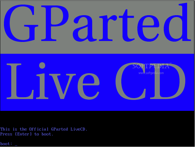 gparted live cd iso