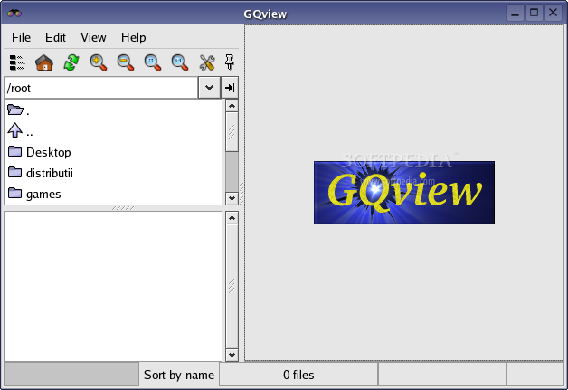 GQview screenshot 1
