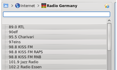 German Radio Streams Service screenshot 1