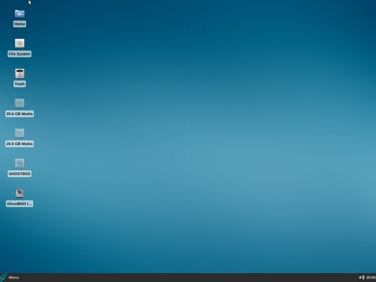 Download GhostBSD Xfce 19 04